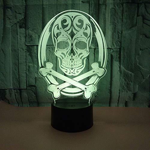 Nachtlicht Lampe 7 Farbwechsel LED Touch USB Tisch Geschenk Kinder Spielzeug Dekor Dekorationen Weihnachten Valentinstag Geschenk Geburtstag Gift Ghost Festival -