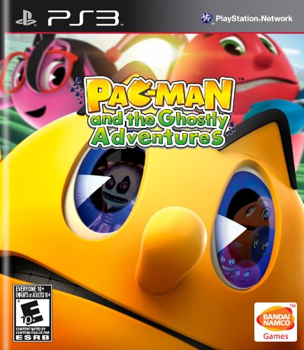 Namco Bandai Games PAC-MAN and the Ghostly Adventures, PS3