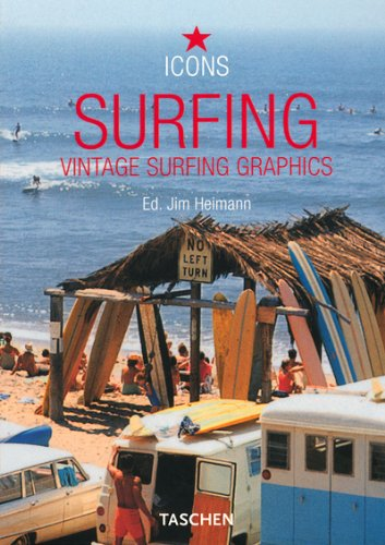 Surfing: Vintage Graphics: Vintage Surfing Graphics (Icons)
