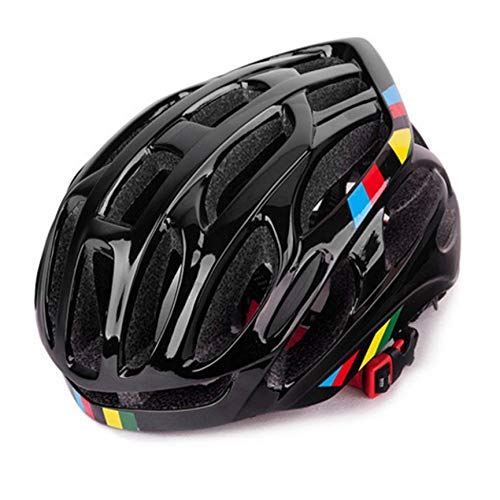 VCB Soft Ventilation Cycling Bicycle Helmet Breathable Bike Helmet Fully-Molded - Black