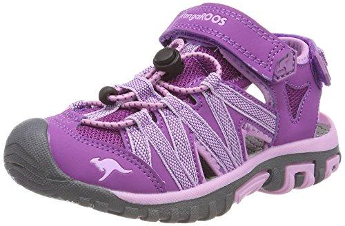 der Osato Sandalen, Violett (Purple/Orchid Bouquet), 39 EU (Mädchen Anlass Schuhe)