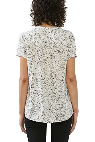 edc by Esprit, Blouse Femme Blanc (Off White)