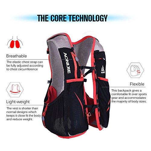 Imagen de lixada 5l deportes  vest pack para 1.5l water bag ciclismo senderismo bag al aire libre deportes l xl  alternativa
