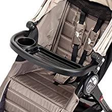 Baby Jogger Pushchair Child Tray with Pram Cup Holder | City Elite, City Mini, City Mini GT & Summit X3 Single Strollers