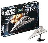 Revell Modellbausatz Star Wars Imperial Star Destroyer im Maßstab 1:12300, Level 3, originalgetreue Nachbildung mit vielen Details, einfaches Kleben und Bemalen, 03609