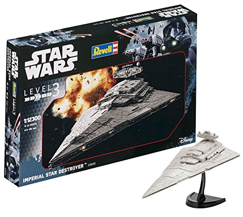 Revell Wars Imperial Star Destroyer, Kit modele, Escala 1:12300 (03609)