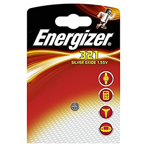 Energizer SR321 Silver Oxide Button Cell Battery