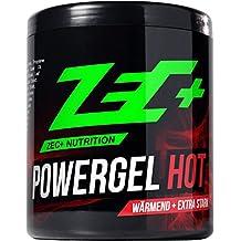 ZEC+ Sportgel POWERGEL HOT | wärmendes SCHMERZGEL | mildert MUSKELKATER | bei GELENK & MUSKELSCHMERZEN | durchblutungsfördernd durch natürliche Extrakte | fördert Regeneration | 500ml