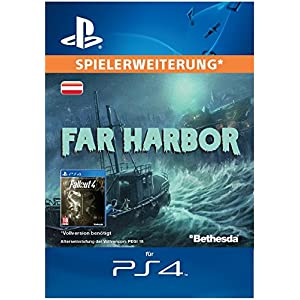 Fallout 4: Far Harbor [Spielerweiterung] [PSN Code – österreichisches Konto]