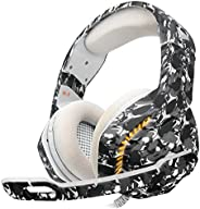 Cosmic Byte H3 Gaming Headphone with Mic for PC, Laptops, Mobiles, PS4, Xbox One (Camo Black)