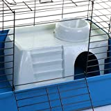 Marko Pet Accessories Rabbit Guinea Pig Pet Cage Hutch Indoor Cages Water Bottle House Accessories (Pet House & Bowl)