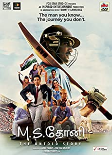 M.S. Dhoni: The Untold Story Tamil DVD,( All Regions, English Subtitles )