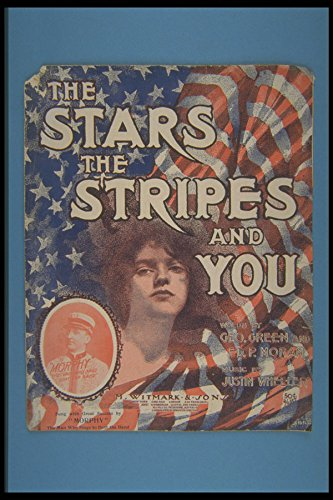 308038 The Stars The Stripes And You 1906 A4 Photo Poster Print 10x8 - Libby Stripe
