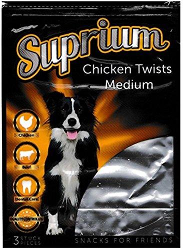 Suprium Chicken Twists Medium, 15 Beutel je 100 g (1500 g)