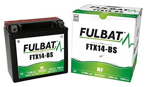 Husqvarna TE 410 E E-Start, 2000-2001, FTX14-BS, DIN 51214 wartungsfreie AGM, MF Fulbat Batterie