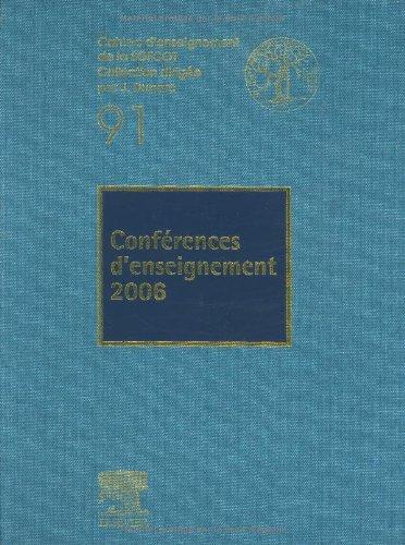 Conférences d'Enseignement 2006 (Nº91)