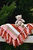 Baby Decke Kinder Decken Wolle strickte M�dchen Kleinkind