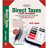 Padhuka's Direct Taxes- A Ready Referencer (for May 2017 & Nov 2017) (CA Final)