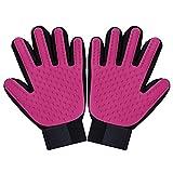 Yilan Pet Haarentferner und Fellpflege-Handschuh für die Haustierpflege, Massagewerkzeug für Hund / Katze / Pferd