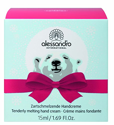 alessandro Ice Bear Handcreme, 1er Pack (1 x 15 ml)