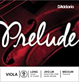 D\'Addario Bowed Corde seule (Sol) pour alto D\'Addario Prelude, « Long Scale », tension Medium