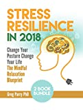 Pain Management: Stress Resilience in 2018. Change Your Posture Change Your Life & The Mindful Relaxation Blueprint: Stop Worrying, Relieve Anxiety, Cure Neck & Back Pain, Stress Release Workbook