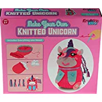 Carousel Toys and Gifts Kreative Kids Make Your Own Knitted Unicorn Craft Activity Kit For Children