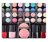 Mousepads Make Up Fall, Colorful Eyeshadows Lippenstiften Lipglosse Rouge und Nail Bild enthält 24903355von MSD Matte Individuelle Desktop Laptop Gaming Mauspad