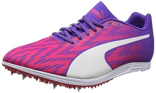 Puma Damen Evospeed Distance 7 Wn Leichtathletikschuhe, Pink (Sparkling Cosmo-Electric Purple White), 42.5 EU