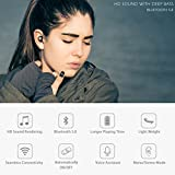 from Tranya Upgraded Version, From 25 April 2018 Bluetooth 5.0 Deep Bass True Wireless Headphones, Tranya Sports Wireless Earbuds, Sweat Proof IPX7 Earphones Built-in Microphone for Running, Gift Box