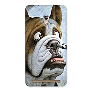 Gorgeous Big Face Dog Back Case Cover for Zenfone 6