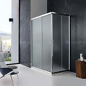 douche 80x100 cm mod le giada crystal matt cuisine maison. Black Bedroom Furniture Sets. Home Design Ideas
