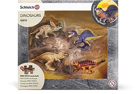 Schleich - 42212 - Figurine - Mini-dinosaures avec puzzle lave