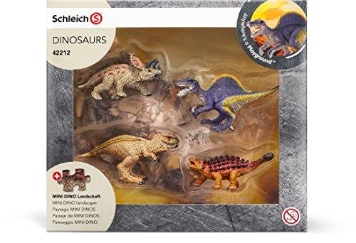 Schleich - Mini dinos con puzzle de zona con lava (42212)