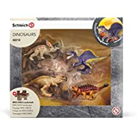 Schleich 42212 - Dinosaurs Mini dinosaurs with lava field puzzle