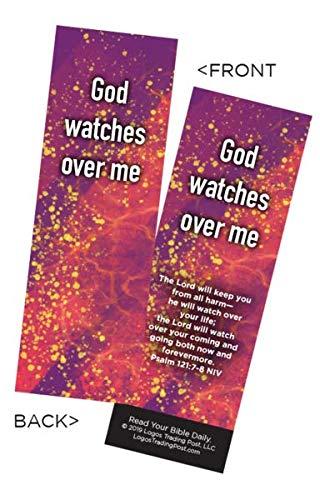 Lesezeichen für Kinder, christlich, Aufschrift