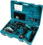 Makita DK1804FL Combo-Kit 18 V (BHP451+BJR181+BSS610+BML185)