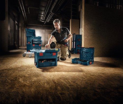 Bosch Lboxx3 Stackable Tool Storage Case, Blue