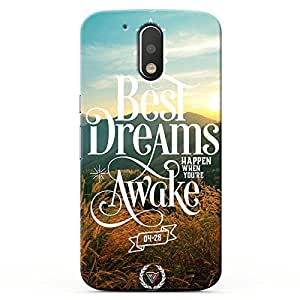 Kaira High Quality Printed Designer Back Case Cover for Motorola Moto G4 / G4 Plus ( 4rth Generation) (bestdreams )