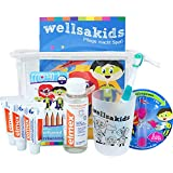 "wellsamed wellsakids Zahnpflege Reiseset Kinder Mundpflege-Set Zahnpflege-Set Travel Set ""Ready-For-Holiday"