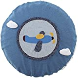 Home All-Round Tissu Housse de protection Cartoon Round Floor Fan Dust Cover Flying Free