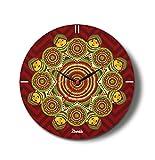 Kolorobia Madhubani Aura Glass Clock