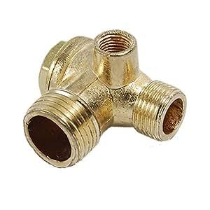 sodial r valve clapet anti retour en laiton pour le compresseur a air filetage femelle. Black Bedroom Furniture Sets. Home Design Ideas