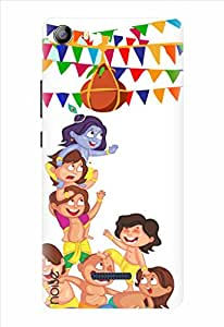 Noise Makhan Chor Printed Cover for Micromax Canvas 5 E481