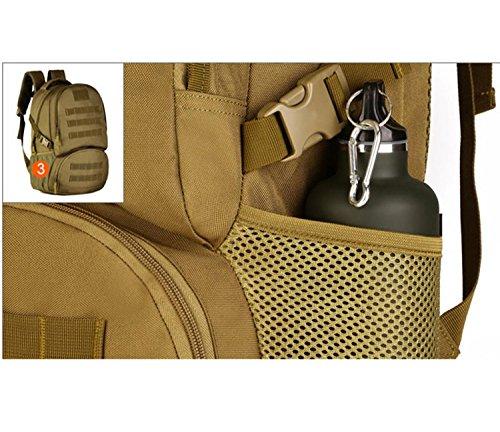 Protector Plus Bergspitze 35 Liter Wandern Rucksack Outdoor Camping, leichte wasserdichte Tasche E