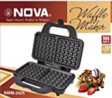NOVA NWM-2425 WAFFLE MAKER 900WATTS (25 + 25 IN EACH SLICE)