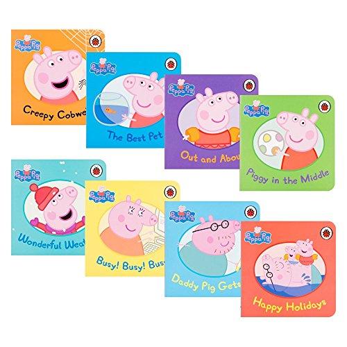 Bundle of 8 Ladybird Peppa Pig Story Books