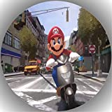 Fondant Tortenaufleger Tortenbild Geburtstag Super Mario P7