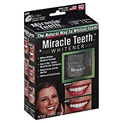 Miracle Teeth Whitener | Natural Whitening Coconut Charcoal Powder