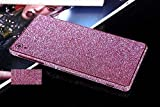 FINOO Scintillement Autocollant Sony Z3 - rose, Sony Z3